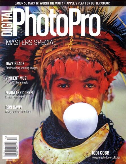 Digital Photo Pro Cover - 12/1/2016