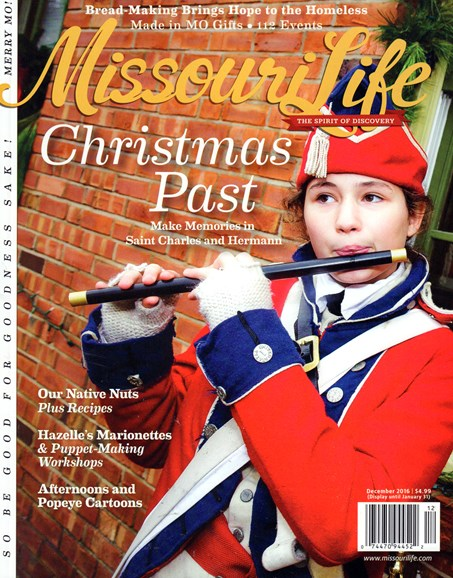 Missouri Life Cover - 12/1/2016