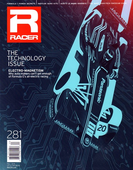 Racer Cover - 10/1/2016