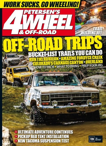 4 Wheel & Off-Road Cover - 12/1/2016