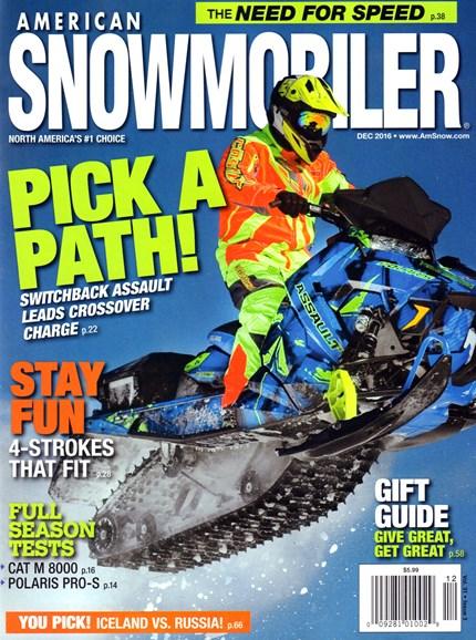 American Snowmobiler Cover - 12/1/2016