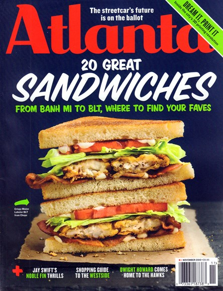 Atlanta Magazine Cover - 12/1/2016