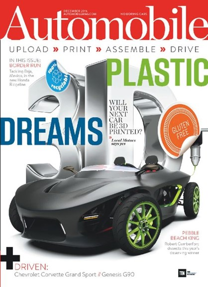 Automobile Cover - 12/1/2016