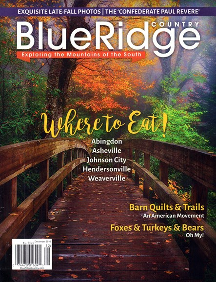 Blue Ridge Country Cover - 12/1/2016