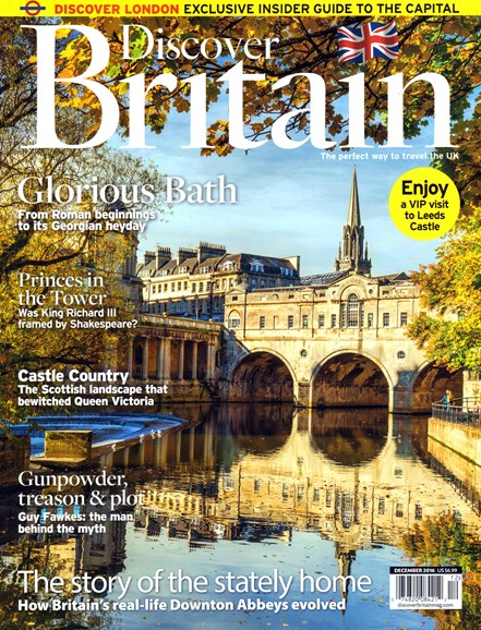 Discover Britain Cover - 12/1/2016