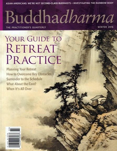 BUDDHADHARMA: THE PRACTIONER'S QUARTERLY Cover - 12/1/2016