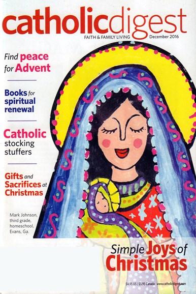 Catholic Digest Cover - 12/1/2016
