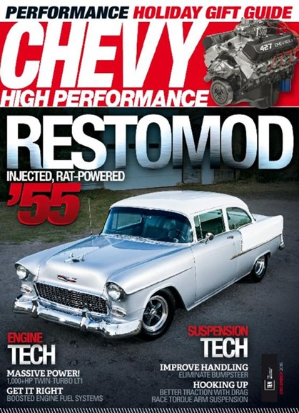 Chevy High Performance Cover - 12/1/2016