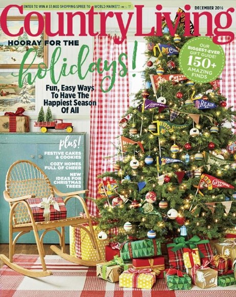 Country Living Cover - 12/1/2016