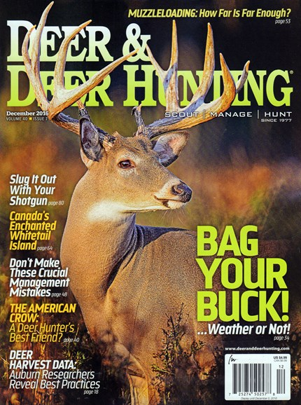 Deer & Deer Hunting Cover - 12/1/2016