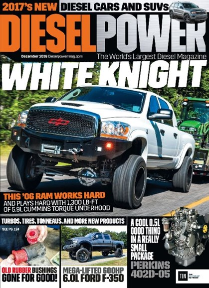 Diesel Power Cover - 12/1/2016