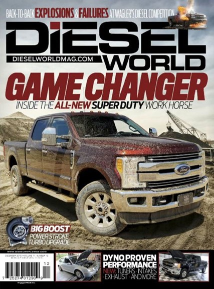 Diesel World Cover - 12/1/2016