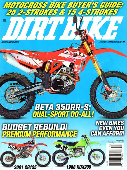 Dirt Bike Cover - 12/1/2016