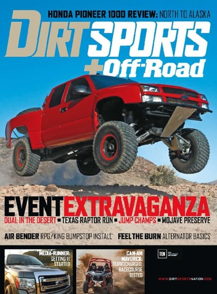 Dirt Sports & Off-Road Cover - 12/1/2016