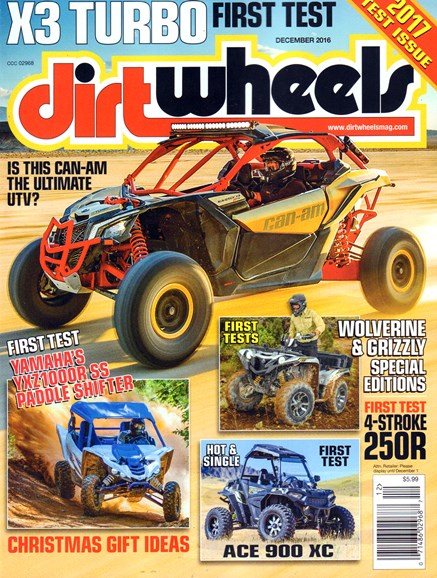 Dirt Wheels Cover - 12/1/2016