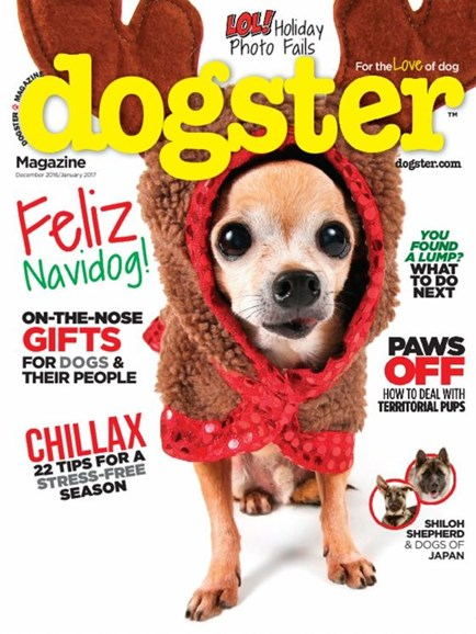 Dogster Cover - 12/1/2016