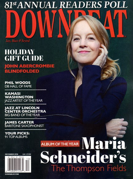 DownBeat Cover - 12/1/2016
