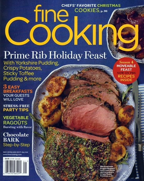 Fine Cooking Cover - 12/1/2016