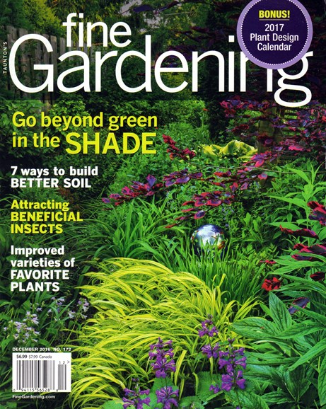 Fine Gardening Cover - 12/1/2016