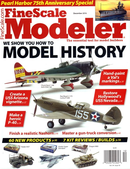 Finescale Modeler Cover - 12/1/2016