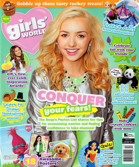 Girls' World Cover - 12/1/2016