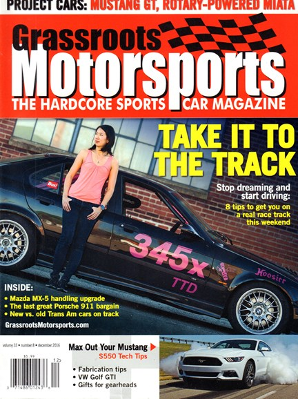 Grassroots Motorsports Cover - 12/1/2016
