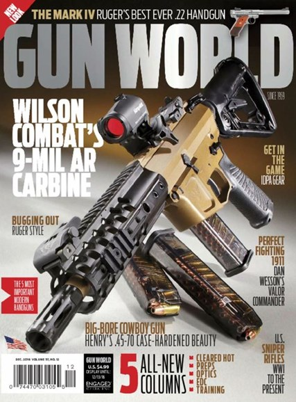 Gun World Cover - 12/1/2016
