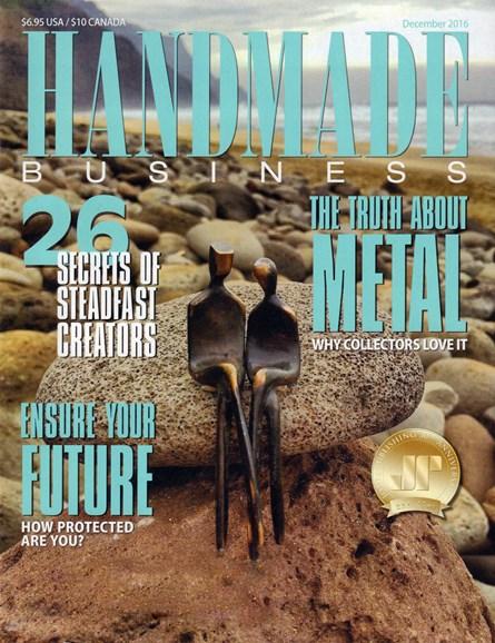 Handmade Business Cover - 12/1/2016