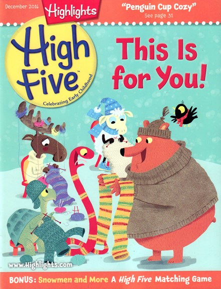 Highlights High Five Cover - 12/1/2016