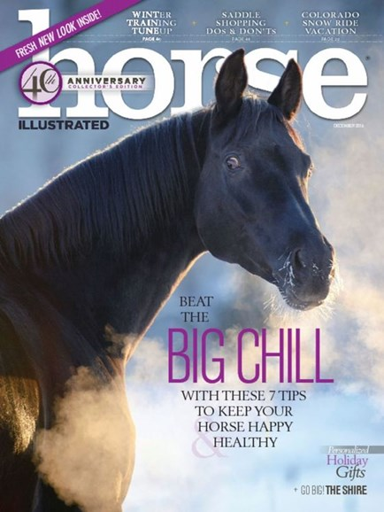 Horse Illustrated Cover - 12/1/2016