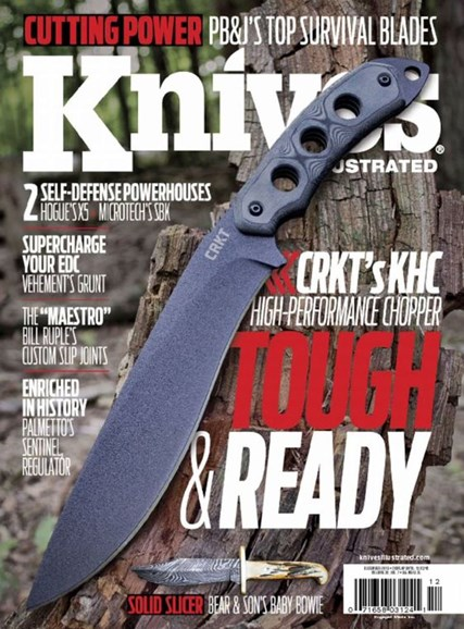 Knives Illustrated Cover - 12/1/2016