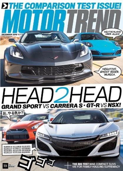 Motor Trend Cover - 12/1/2016
