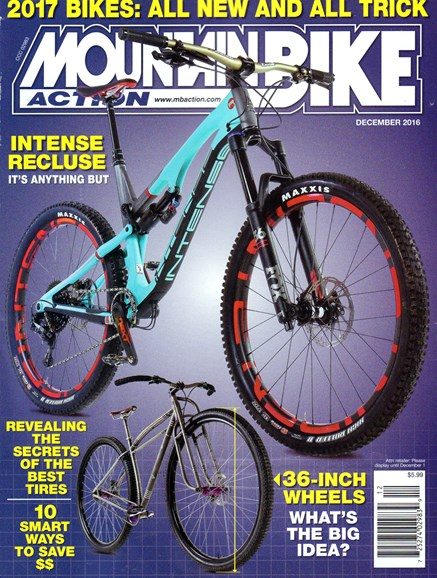 Mountain Bike Action Cover - 12/1/2016