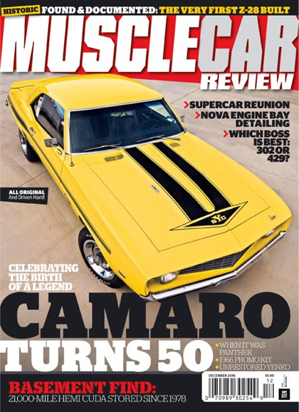 Muscle Car Review Cover - 12/1/2016