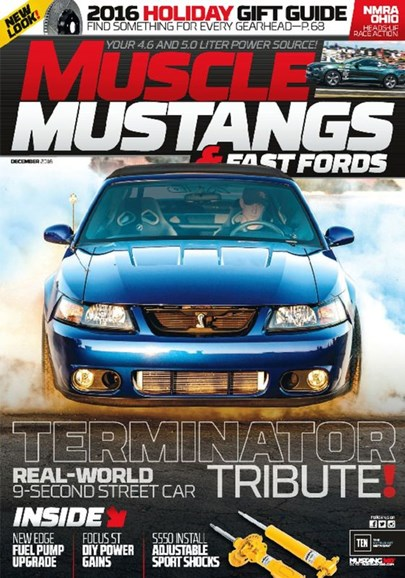 Muscle Mustangs & Fast Fords Cover - 12/1/2016