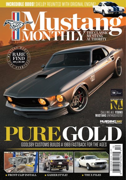 Mustang Monthly Cover - 12/1/2016