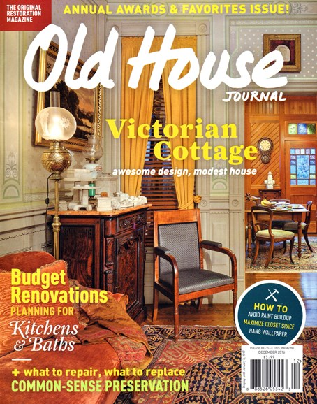 Old House Journal Cover - 12/1/2016