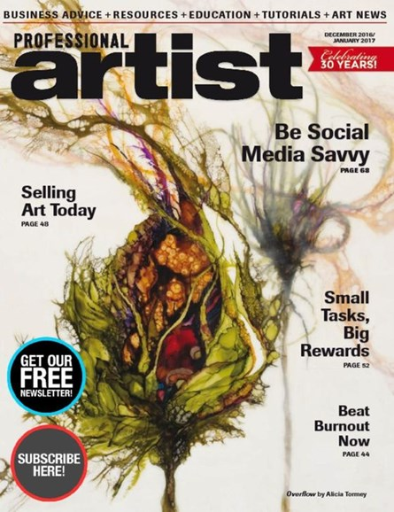 Professional Artist Cover - 12/1/2016