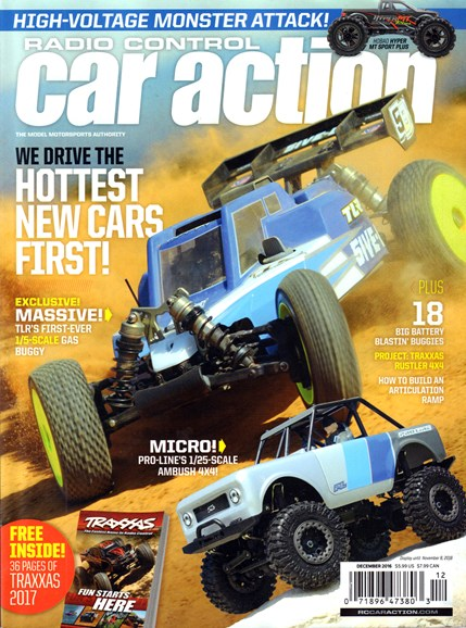 Radio Control Car Action Cover - 12/1/2016