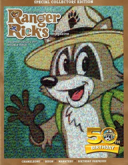 Ranger Rick Cover - 12/1/2016