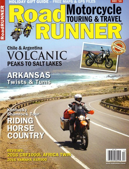 Road RUNNER Motorcycle & Touring Cover - 12/1/2016