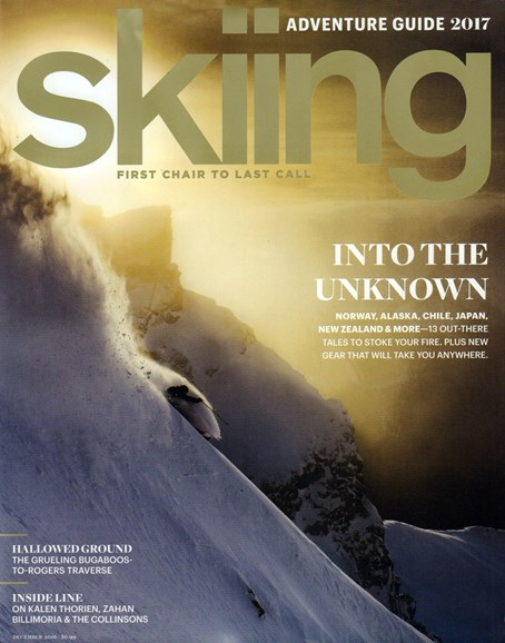 Skiing Cover - 12/1/2016