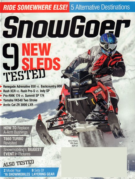 Snow Goer Cover - 12/1/2016