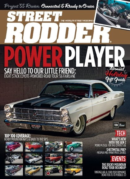 Street Rodder Cover - 12/1/2016