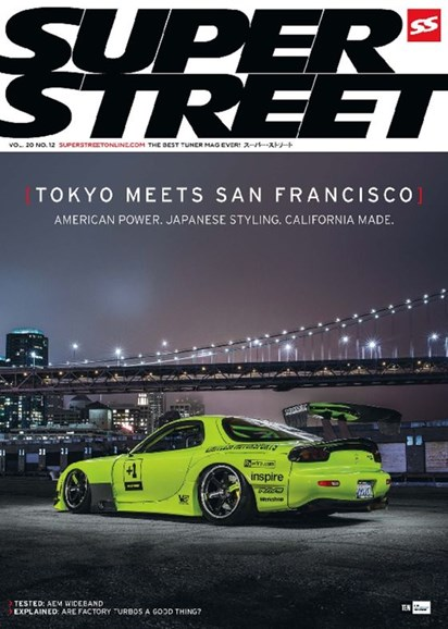 Super Street Cover - 12/1/2016
