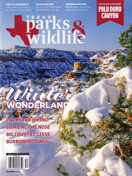 Texas Parks & Wildlife Cover - 12/1/2016