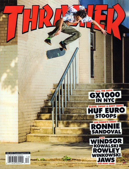Thrasher Cover - 12/1/2016