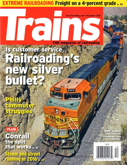 Trains Cover - 12/1/2016