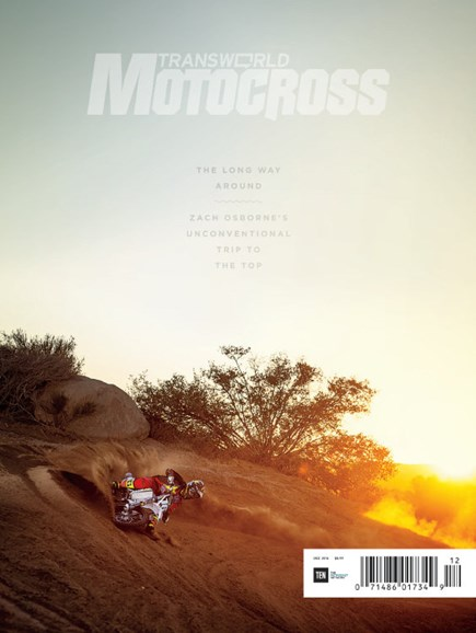 Transworld Motocross Cover - 12/1/2016