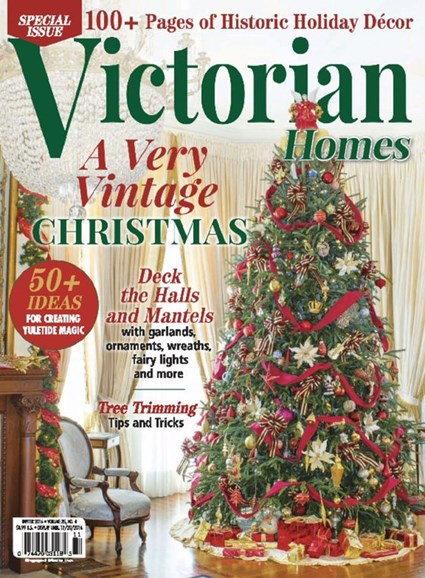 Victorian Homes Cover - 12/1/2016
